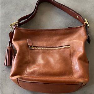 Coach shoulder bag with tassel (authentic)